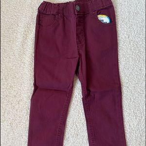 Other - Kids Maroon pants 4t